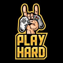 Tshirt play hard
