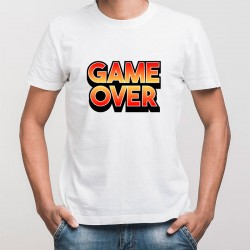 T shirt game over