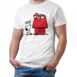T shirt Snoopy vs Mario