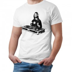 T shirt DJ Mona lisa