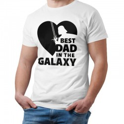 T shirt Best dad in the galaxy