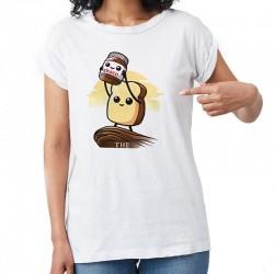 T shirt pate à tartiner