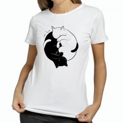T shirt Chat yin et yang