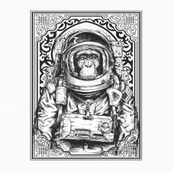 T shirt singe astronaute