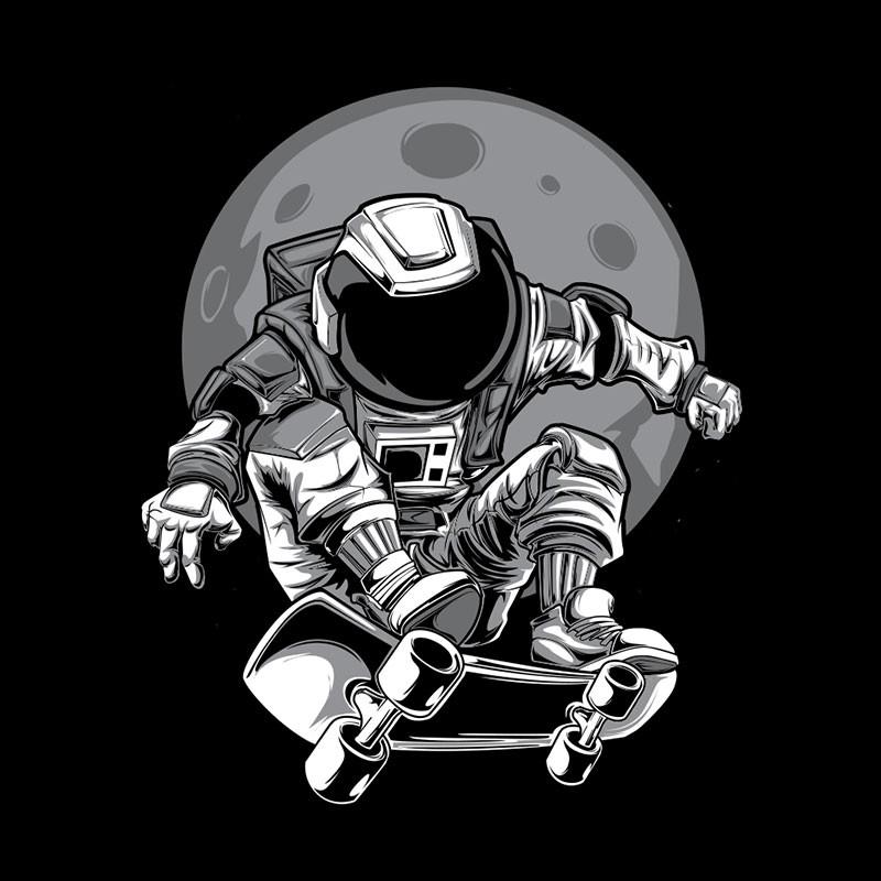 Skateur lunaire
